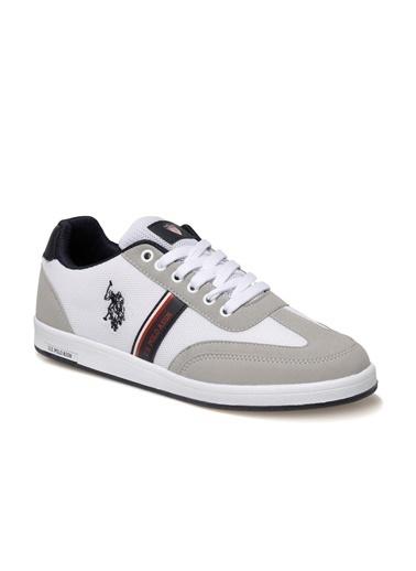 U.S. Polo Assn. Erkek Ayakkabı Kares 100910452 Beyaz